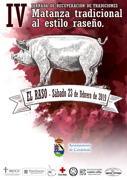 IV Matanza Tradicional al Estilo Raseño - El Raso - Candeleda - TiétarTeVe