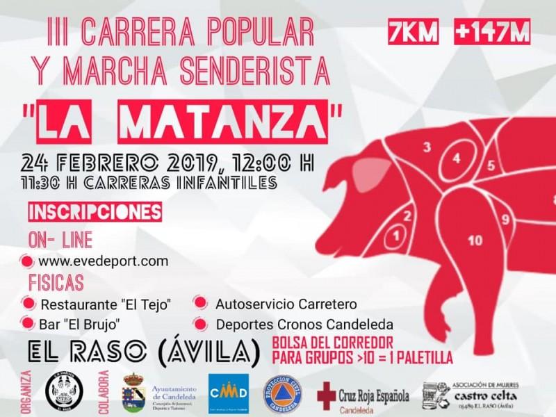 """III Carrera Popular y Marcha Senderista """"La Matanza"""" - El Raso - Candeleda - TiétarTeVe"""
