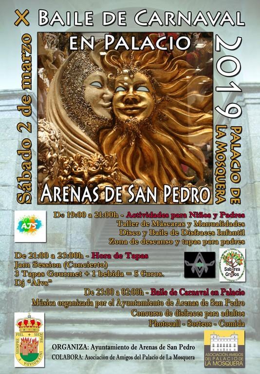 X Baile de Carnaval en Palacio - Arenas de San Pedro - TiétarTeVe