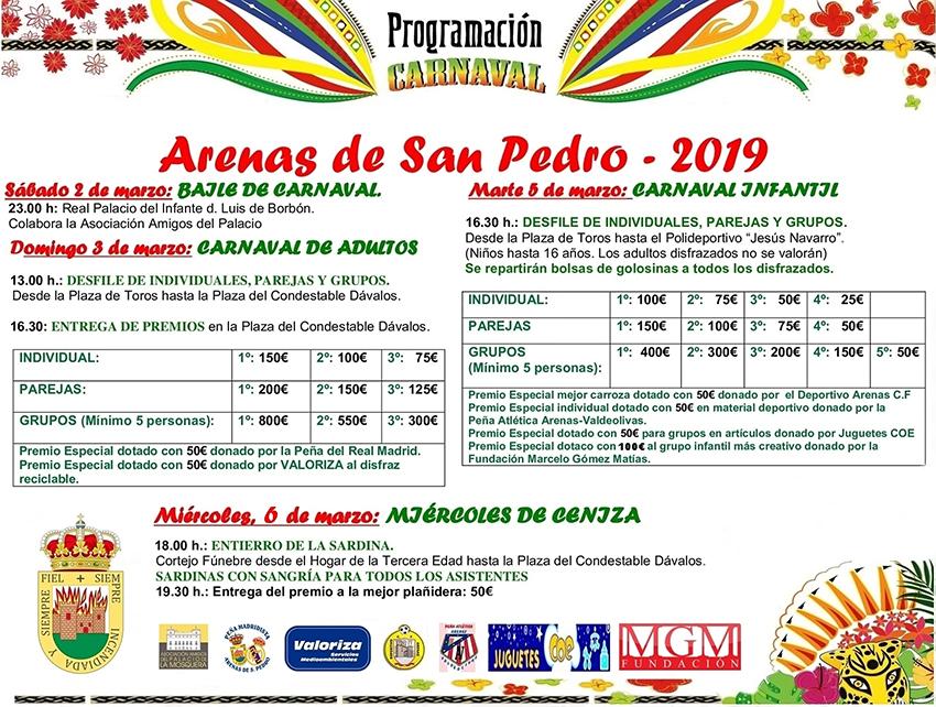 Carnaval Arenas de San Pedro - TiétarTeVe