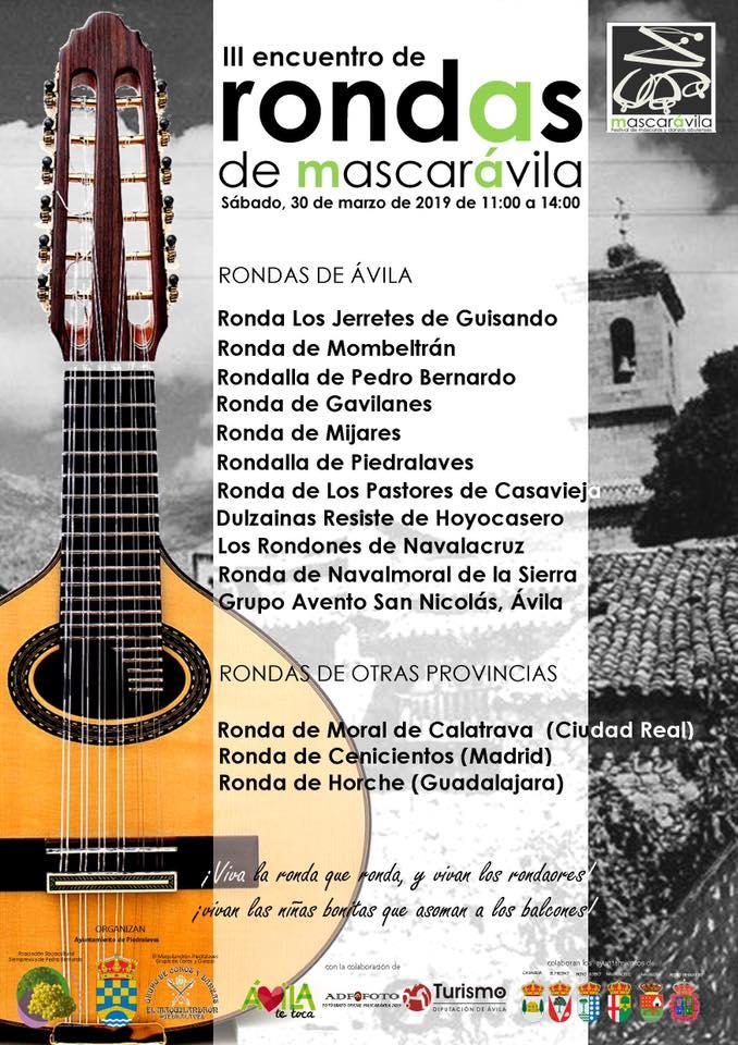III Encuentro de Rondas en Mascaraila - Piedralaves - TiétarTeVe