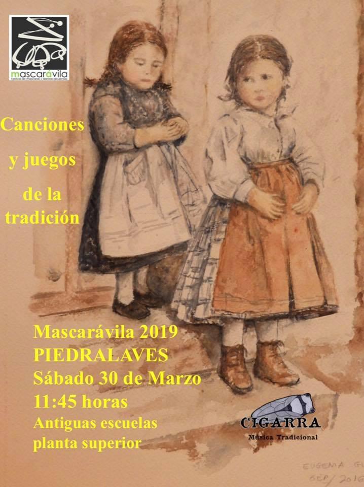 V Mascarávila - Canciones y Juegos de la Tradición - Piedralaves - TiétarTeVe