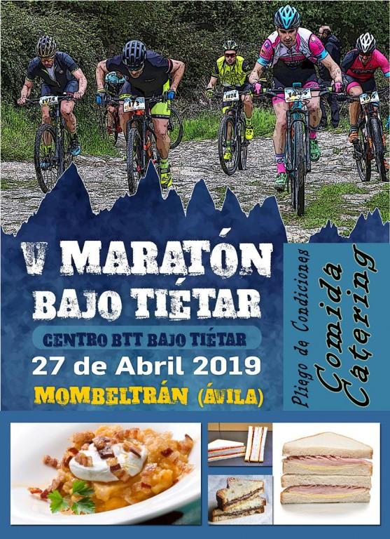 Pliego de Condiciones Comida Catering V Maratón Bajo Tiétar - Mombeltrán - TiétarTeVe