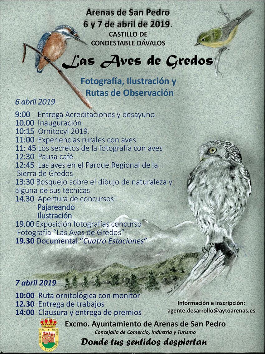 I Jornadas de Ornitología en Arenas de San Pedro - TiétarTeVe