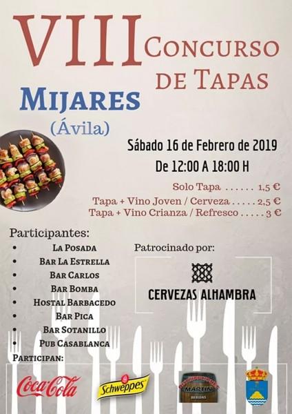 VIII Concurso Tapas Mijares 2019 - TiétarTeVe