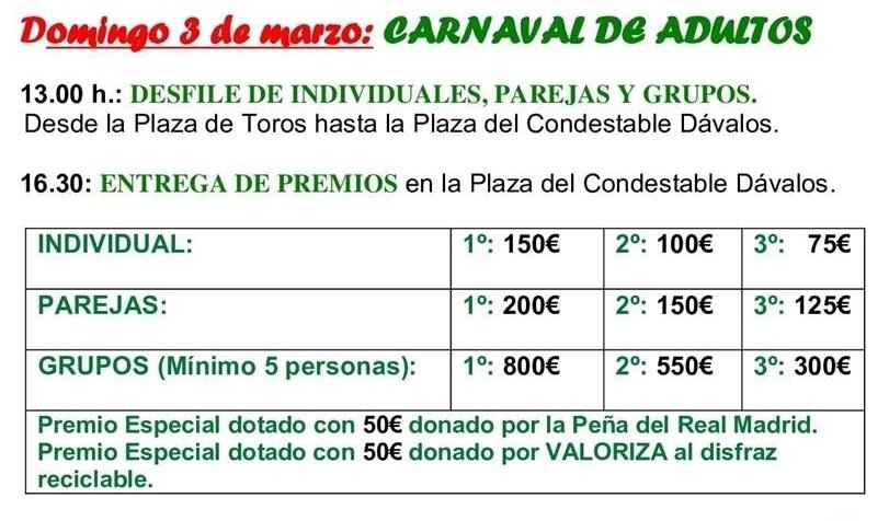 Carnaval Adultos 2019 - Arenas de San Pedro - TiétarTeVe