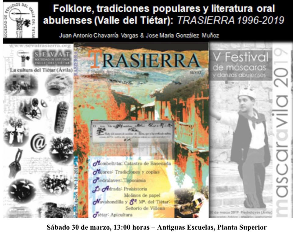 Conferencia  en Mascarávila - Piedralaves - TiétarTeVe