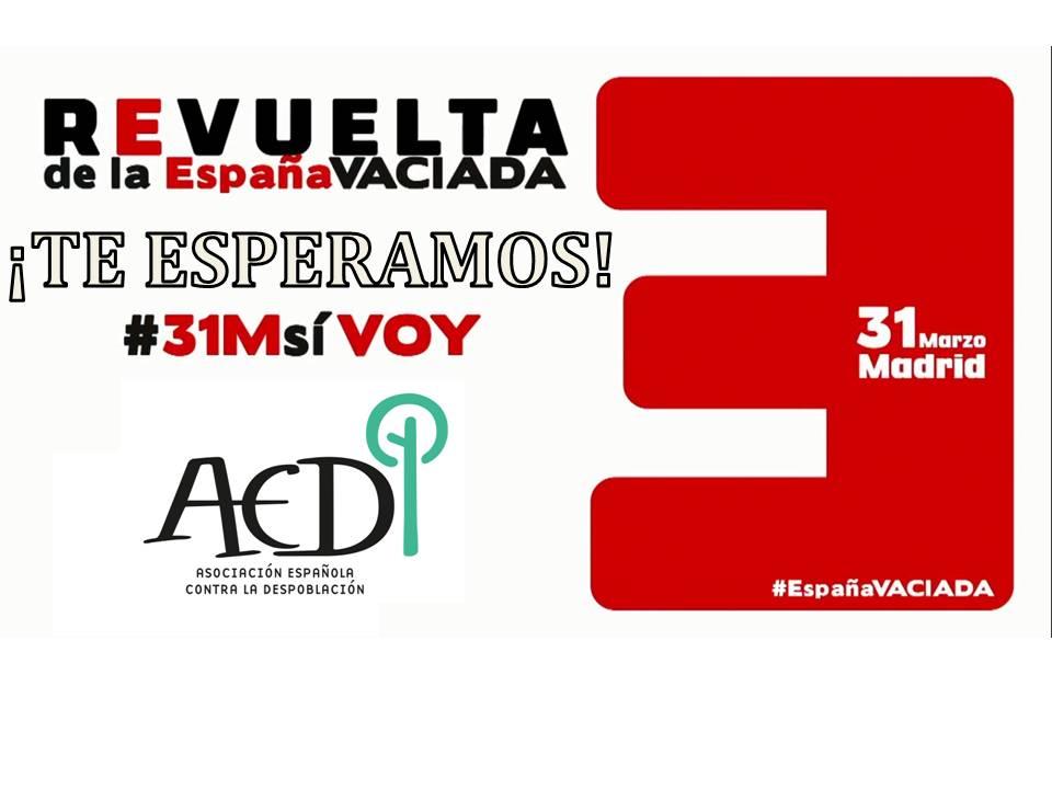 Manifestación - La España Vaciada - Madrid - TiétarTeVe