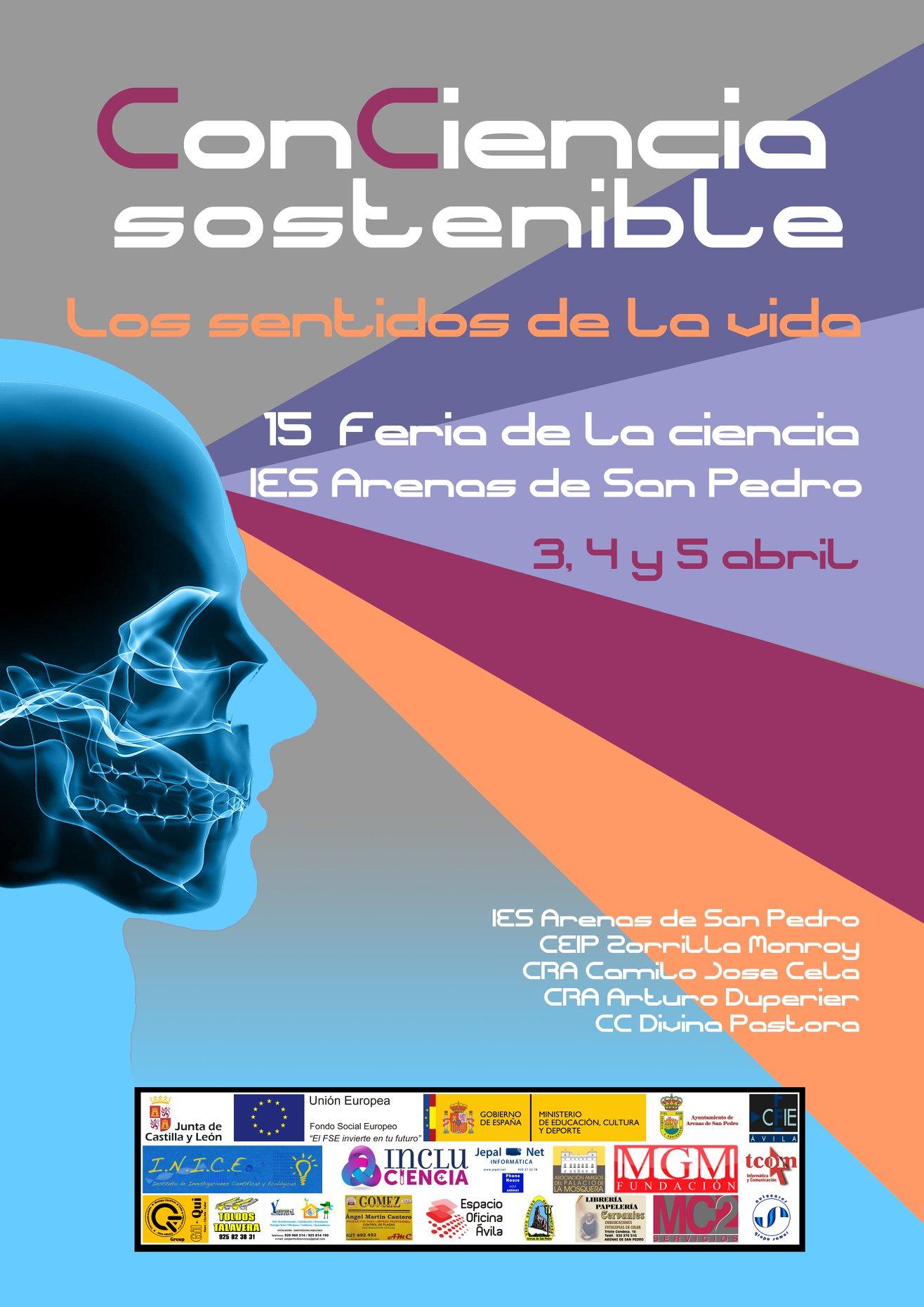 XV Feria de la Ciencia en la Calle - Arenas de San Pedro - TiétarTeVe