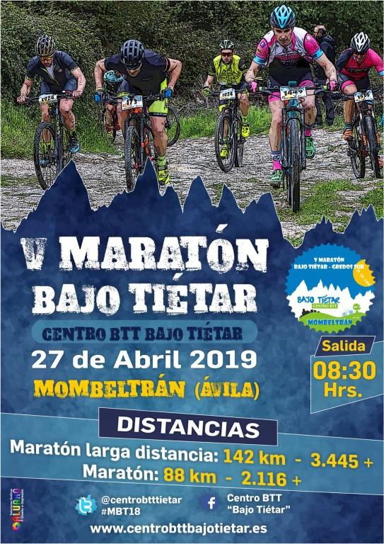 V Maratón BTT Bajo Tiétar - Mombeltrán - TiétarTeVe