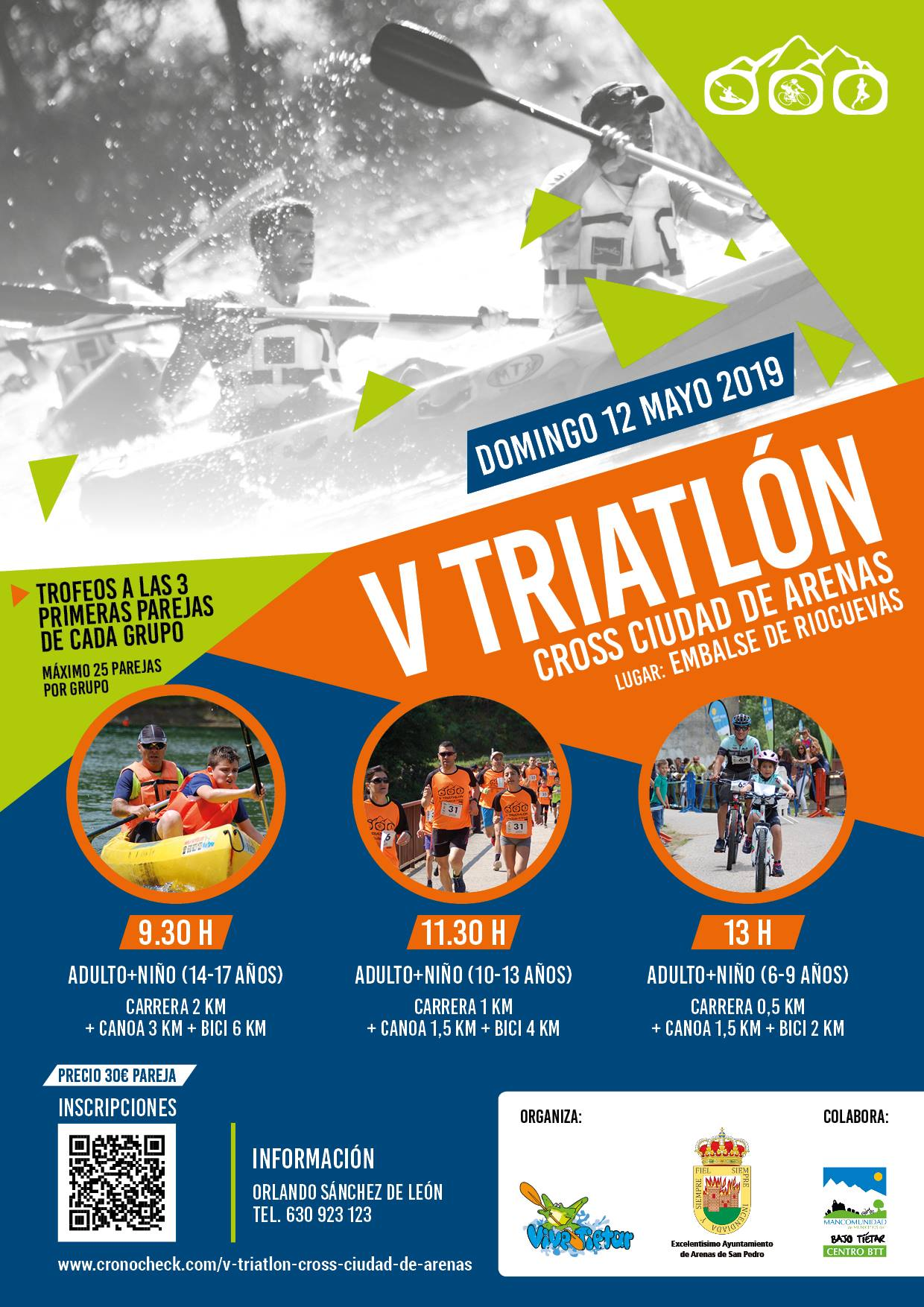V Triatlón Cross Ciudad de Arenas - Arenas de San Pedro - TiétarTeVe