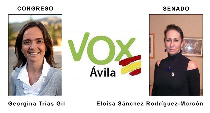 Candidatos VOX Ávila - TiétarTeVe
