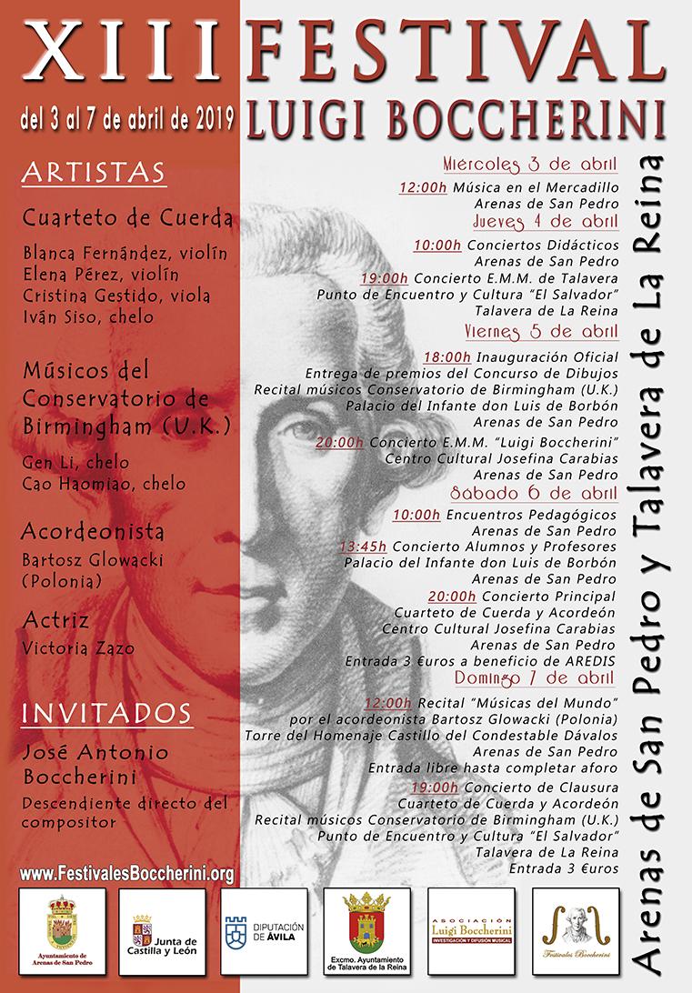 XIII Festival Luigi Boccherini - Arenas de San Pedro - Talavera de La Reina - TiétarTeVe