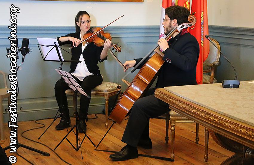 Concierto de Cristina Gestido e Iván Siso - XIII Festivales Boccherini - Arenas de San Pedro - TiétarTeVe