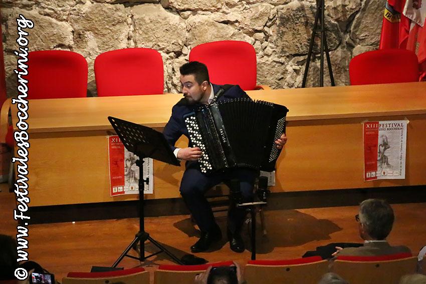 Concierto de  acordeón - Bartosz Glowacki - Castillo del Condestable Dávalos - Arenas de San Pedro - TiétarTeVe
