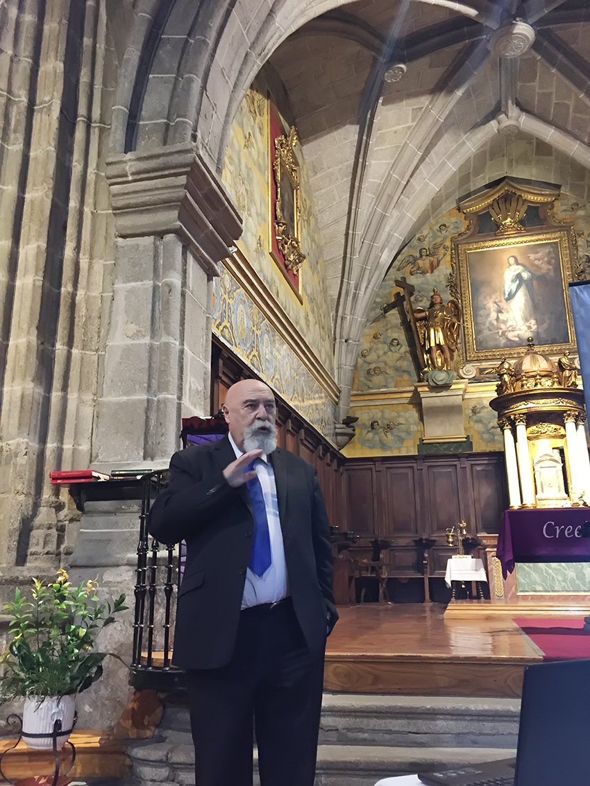 """Conferencia """"La Semana Santa en el Medio Rural"""" - Arenas de San Pedro - TiétarTeVe"""