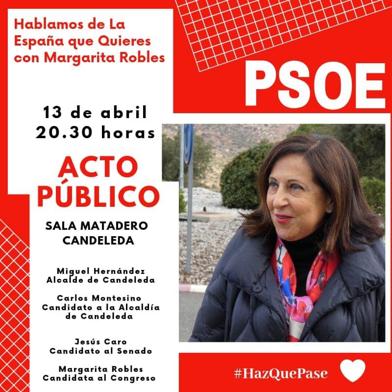 Candidatos del PSOE en Ávila - Presentación en Candeleda - TiétarTeVe
