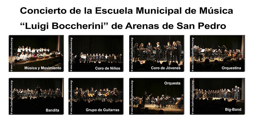 Concierto EMM Arenas de San Pedro - TiétarTeVe