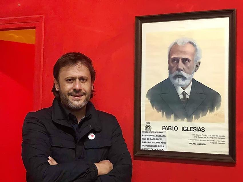 Óscar Tapias Grégoris - PSOE Arenas de San Pedro - TiétarTeVe