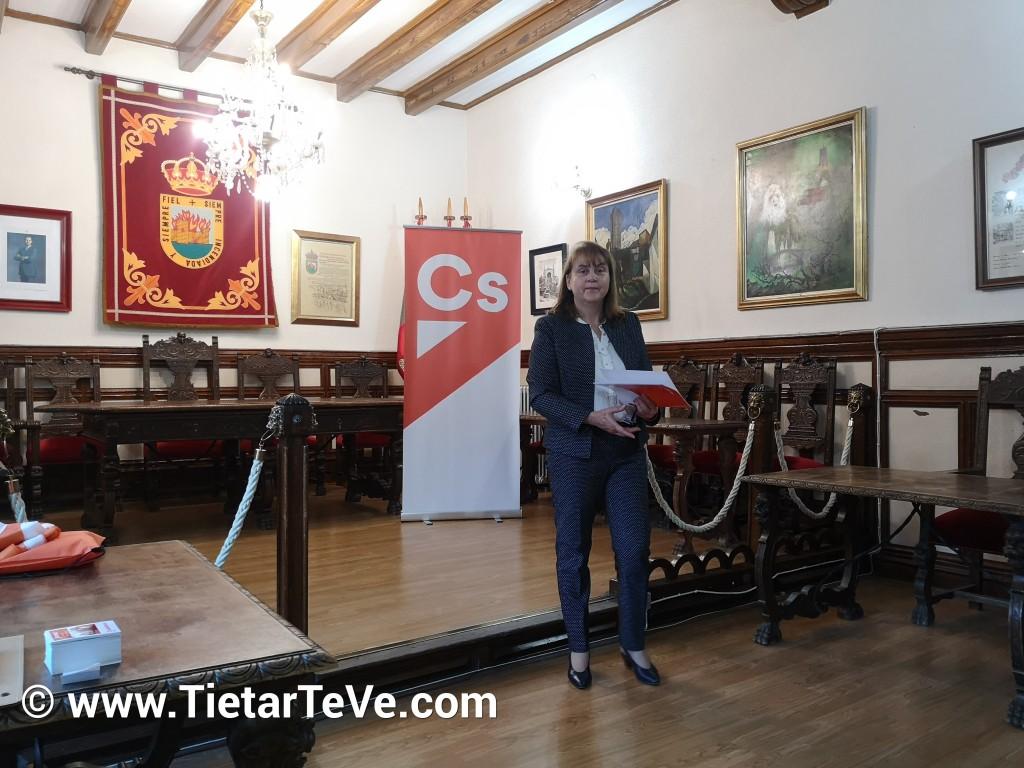 Acto de Ciudadanos en Arenas de San Pedro - TiétarTeVe