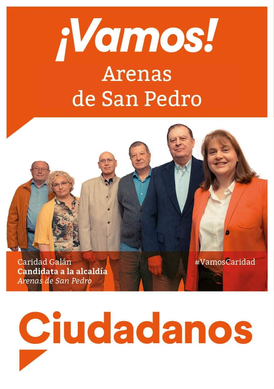 Ciudadanos - Arenas de San Pedro - TiétarTeVe