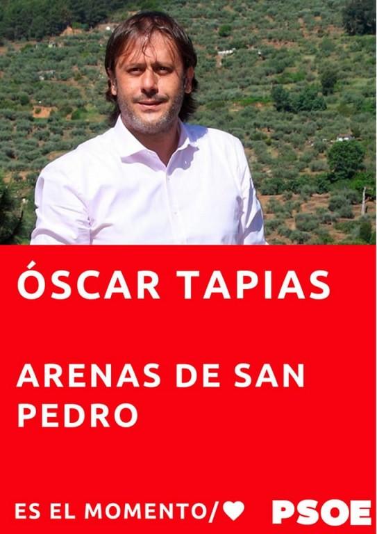 Óscar Tapias - PSOE - Ayuntamiento de Arenas de San Pedro - TiétarTeVe