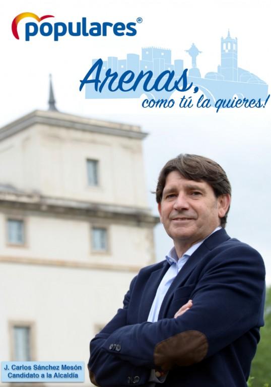 Programa del Partido Popular de Arenas de San Pedro - Elecciones Municipales 2019 - TiétarTeVe