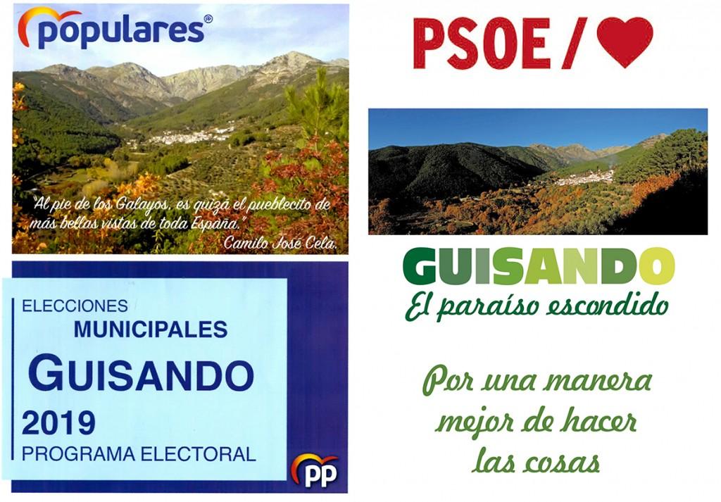 Programa PP y PSOE Ayuntamiento de Guisando - Elecciones Municipales 2019 - TiétarTeVe