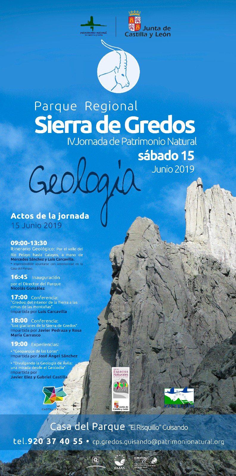 "IV Jornada de Patrimonio Natural ""Geología"" Geología - Guisando - TiétarTeVe"