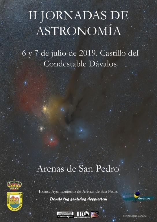 II Jornadas de Astronomía - Arenas de San Pedro - TiétarTeVe