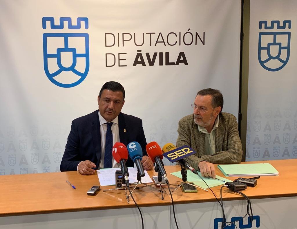 Convenio Diputación de Ávila - AECC - TiétarTeVe