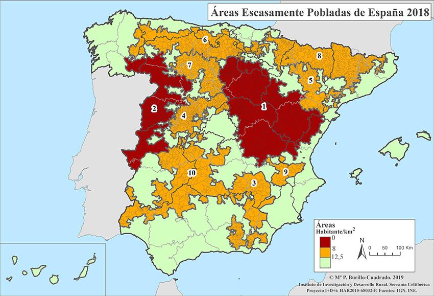 Áreas Escasamente Pobladas - Pilar Burillo - Asociación Española contra la Despoblación - TiétarTeVe