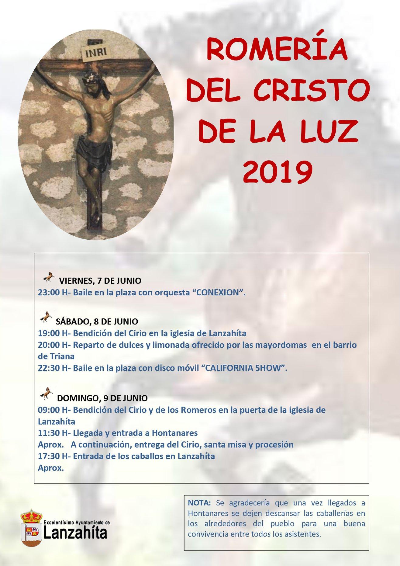 Romería del Cristo de La Luz - Lanzahíta - TiétarTeVe