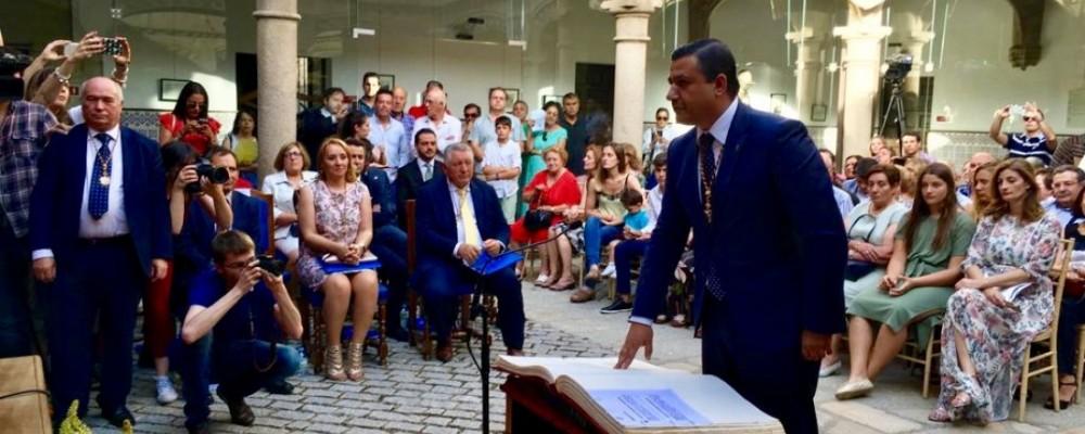 Jura Presidente Diputación de Ávila - TiétarTeVe