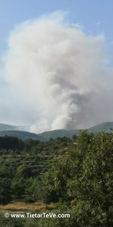Incendio El Arenal - TiétarTeVe