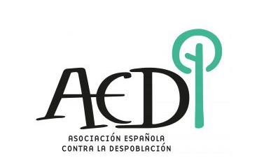 Logotipo Asociación Española contra la Despoblación - TiétarTeVe