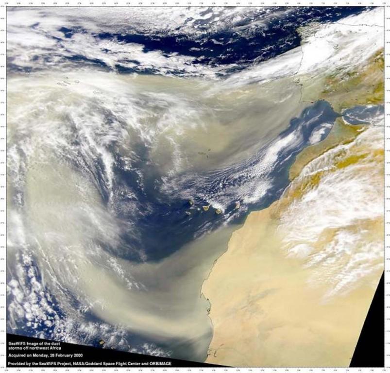 Partículas de Polvo de África - TiétarTeVe