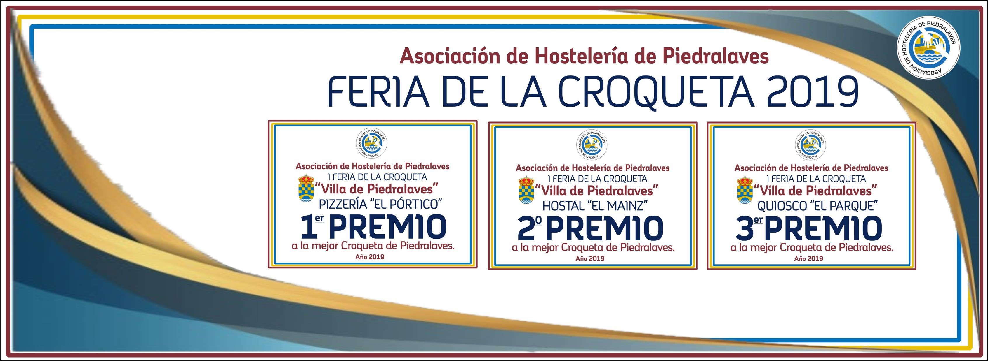Ganadores I Feria de la Croqueta en Piedralaves - TiétarTeVe