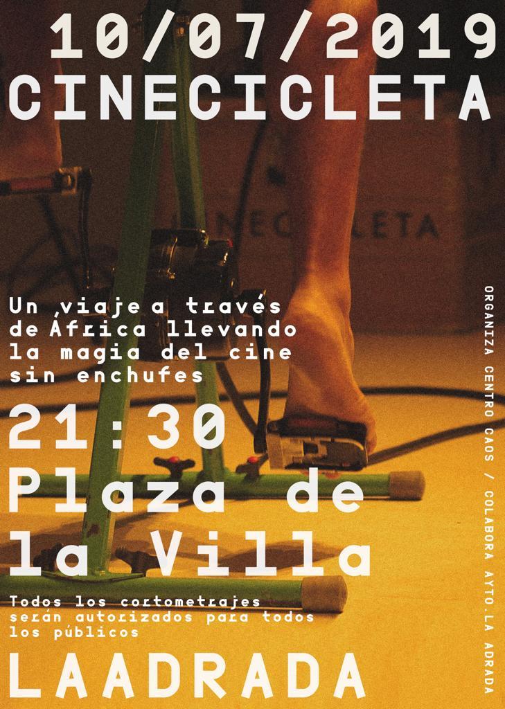 Cinecicleta - La Adrada - TiétarTeVe