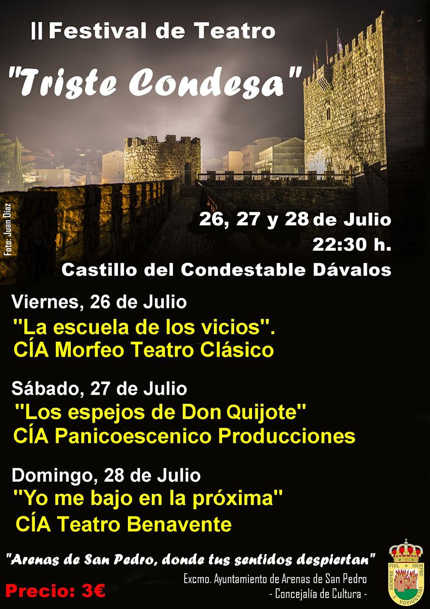 II Festival de Teatro de Arenas de San Pedro - TiétarTeVe