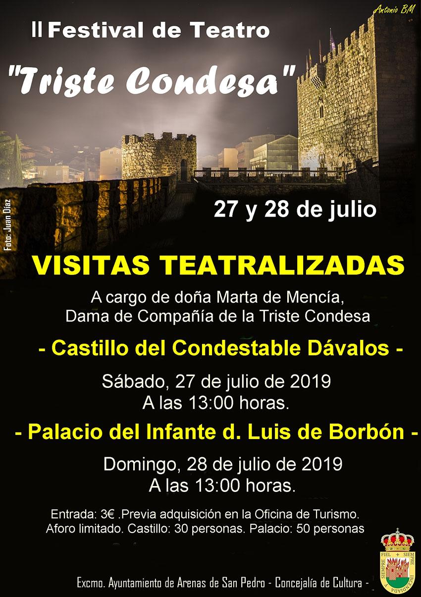 Visitas Teatralizadas del II Festival de Teatro de Arenas de San Pedro - TiétarTeVe