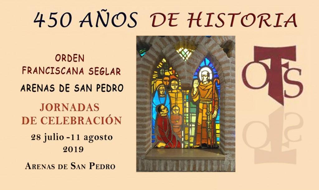 450 Aniversario Orden Franciscana Seglar de Arenas de San Pedro - TiétarTeVe