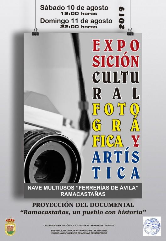 Exposición - Semana Cultural 2019 en Ramacastañas - TiétarTeVe