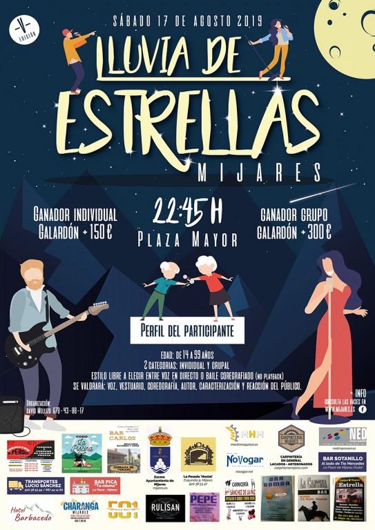 """V Concurso """"Lluvia de Estrellas"""" - Mijares - TiétarTeVe"""