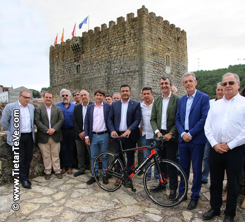 Rueda de Prensa La Vuelta 2019 - Arenas de San Pedro - TiétarTeVe