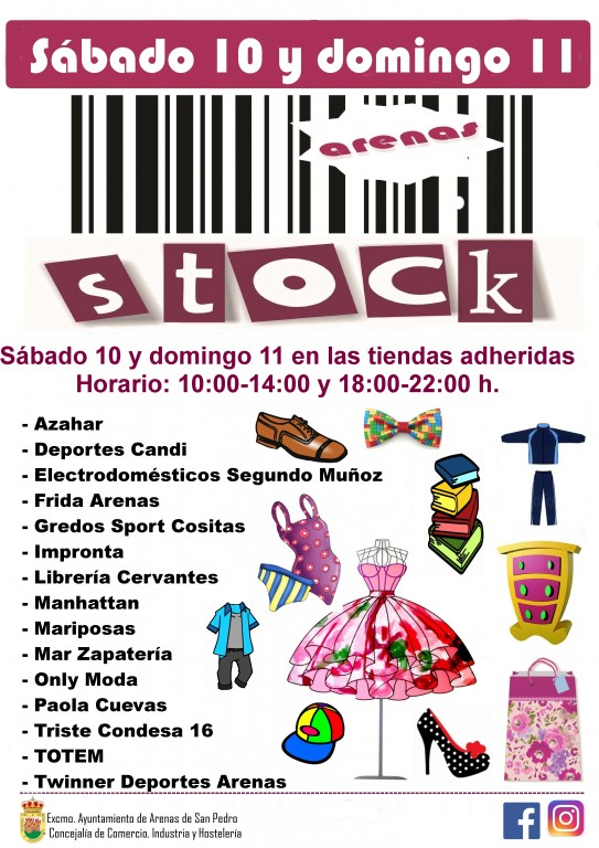 XV Arenas Stock - Feria del Stock de Arenas de San Pedro - TiétarTeVe