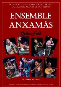 Concierto de Ensemble Anxamás - Arenas de San Pedro - TiétarTeVe