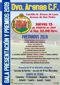Gala Presentación del Deportivo Arenas - Arenas de San Pedro - TiétarTeVe