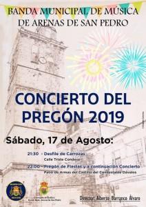 Concierto del Pregón - Arenas de San Pedro - TiétarTeVe