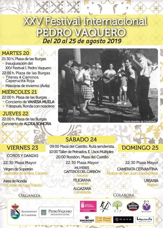 XV Festival Internacional de Folclore Pedro Vaquero - Candeleda - TiétarTeVe